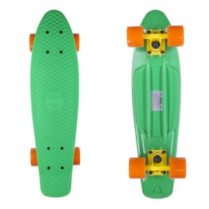 Скейтборд Candy 22'' Green/Orange new (зеленый/оранжевый)