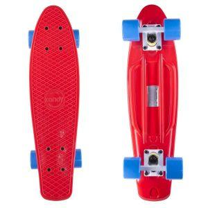 Скейтборд Candy 22'' Red/Blue new (красный/голубой)