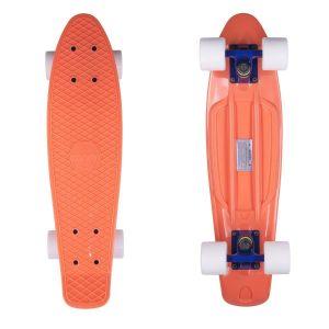 Скейтборд Candy 22'' Orange/White new (оранжевый/белый)