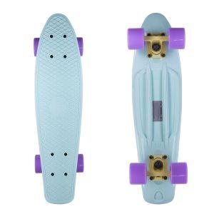 Скейтборд Candy 22'' Pastel Mint/Lilac new (мятный/фиолетовый)