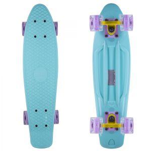 Скейтборд Candy 22'' Mint LED Wheels new (мятный)