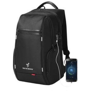 """Рюкзак Segway 15.6"""" с USB интерфейсом Black (черный)"""