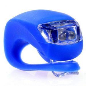 Светодиодный фонарик для самоката (синий)