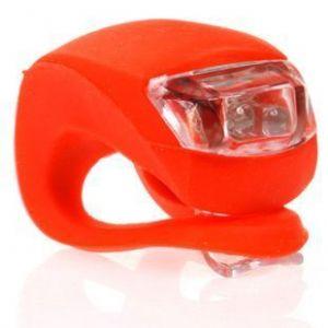 Светодиодный фонарик для самоката (красный)