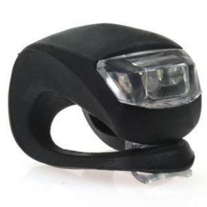 Светодиодный фонарик для самоката (черный)