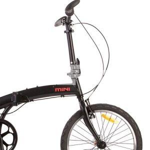 Велосипед 20'' PRIDE MINI 3sp (черный матовый)
