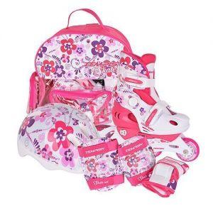 Детские ролики Tempish FLOWER BABY SKATE (розовый)