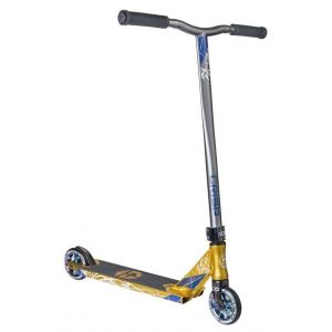 Трюковой самокат Crisp Scooters Inception Gold-Grey
