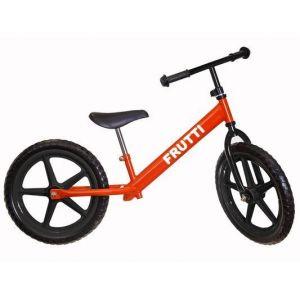 "Беговел Frutti 16"" Cherry black wheels (красный/черный)"