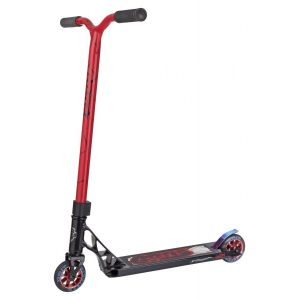 Трюковой самокат Grit Scooters Fluxx Satin Black/Red Black Quake