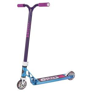 Трюковой самокат Grit Scooters Fluxx Iced Blue/Purple