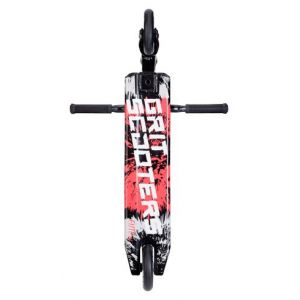 Трюковой самокат Grit Scooters Elite XM Black-Black Silver Laser