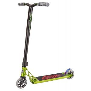Трюковой самокат Grit Scooters Tremor Polished Green-Black