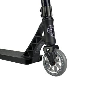 Трюковой самокат Grit Scooters Elite Satin Black Blue Laser