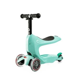 Самокат Micro Mini2Go Mint Deluxe (мятный)