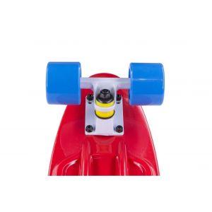 Скейтборд Candy 22'' Blue/Red new (голубой/красный)