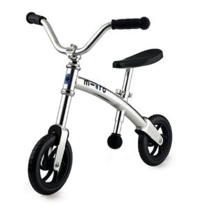 Беговел Micro G-Bike+ Chopper silver (серебристый)