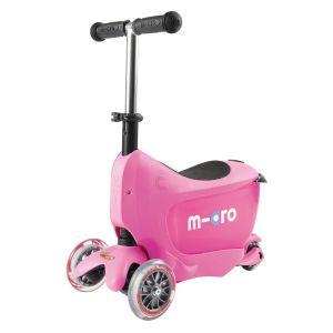 Самокат Micro Mini2Go Pink Deluxe (розовый)