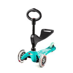 Самокат Mini Micro 3 in 1 Deluxe Aqua (голубой)