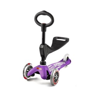 Самокат Mini Micro 3 in 1 Deluxe Purple (фиолетовый)