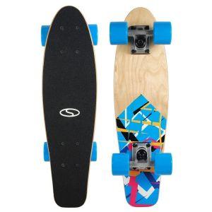 "Скейтборд Smj Sport Fishka Blue Art 22"" Fishboard"