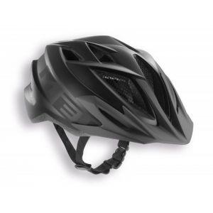 Шлем защитный Met Crackerjack black/anthracite (черный)