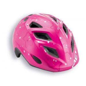 Шлем защитный Met Elfo & Genio little stars (розовый)