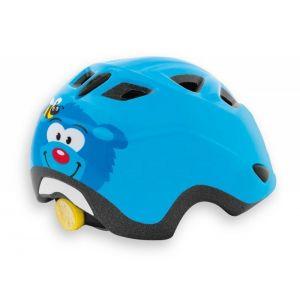 Шлем защитный Met Elfo & Genio bear (синий)