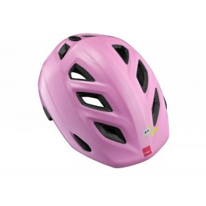 Шлем защитный Met Elfo & Genio cat (розовый)