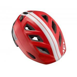 """Шлем защитный Met Elfo & Genio """"85"""" (красный)"""