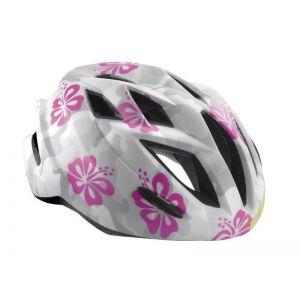 Шлем защитный Met Gamer camouflage flowers (белый)