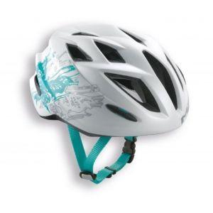 Шлем защитный Met Gamer matt white butterfly (белый)