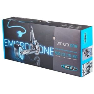 Электросамокат Micro eMicro One (черный)
