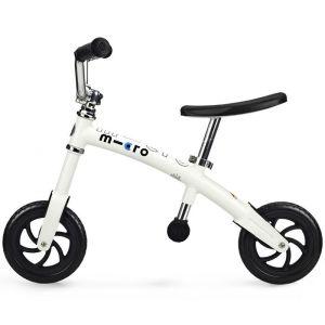 Беговел Micro G-Bike+ Chopper white (белый)