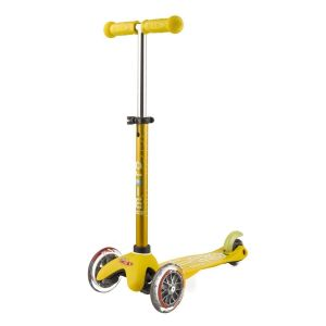 Самокат Mini Micro Deluxe Yellow (желтый)