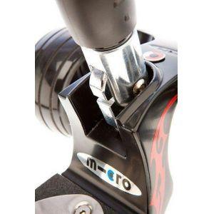 Самокат Micro Kickboard Monster T+J (черный)