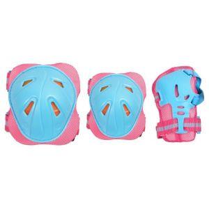 Комплект защиты для взрослых CR368 (розово-голубой))