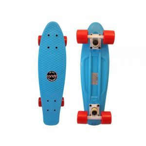 Скейтборд Candy 22'' Blue/Red (голубой/красный)