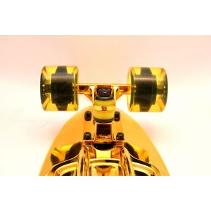 Скейтборд Candy 22'' Gold Chrome