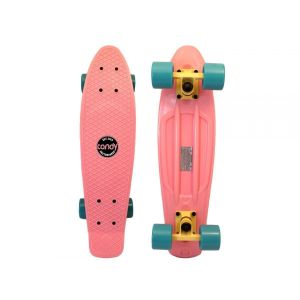 Скейтборд Candy 22'' Pastel Pink (нежно-розовый)