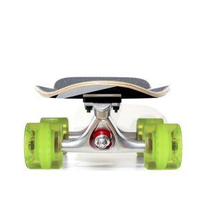 """Скейтборд Fish Skateboards Cruiser Tequila Night 28"""" (зеленый)"""