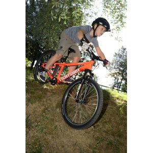 Велосипед Eightshot by Puky X-Coady 24 FS (черно-белый)