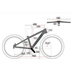 Велосипед Eightshot by Puky X-Coady 24 Disk (черно-белый)