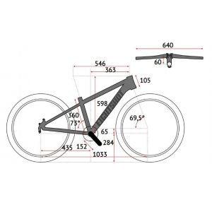 Велосипед Eightshot by Puky X-Coady 275 Disk (черно-оранжевый)