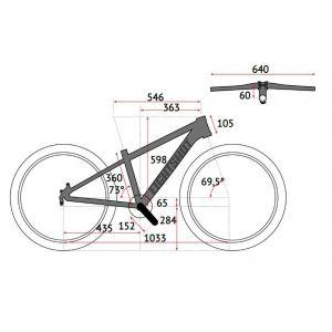 Велосипед Eightshot by Puky X-Coady 275 Race (черно-оранжевый)