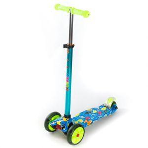 Самокат Explore Amigo Jetta LED Wheels (голубой)