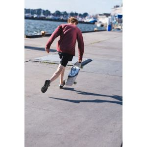 "Скейтборд Fish Skateboards Cruiser Flounder 30"" (красный)"