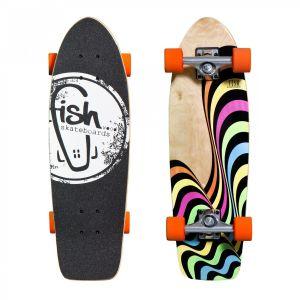 """Скейтборд Fish Skateboards Cruiser Neo 26"""" (оранжевый)"""