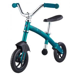 Беговел Micro G-Bike Chopper Deluxe Aqua (голубой)