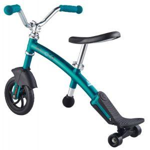 Беговел Micro G-Bike Chopper Deluxe Aqua (голубой)